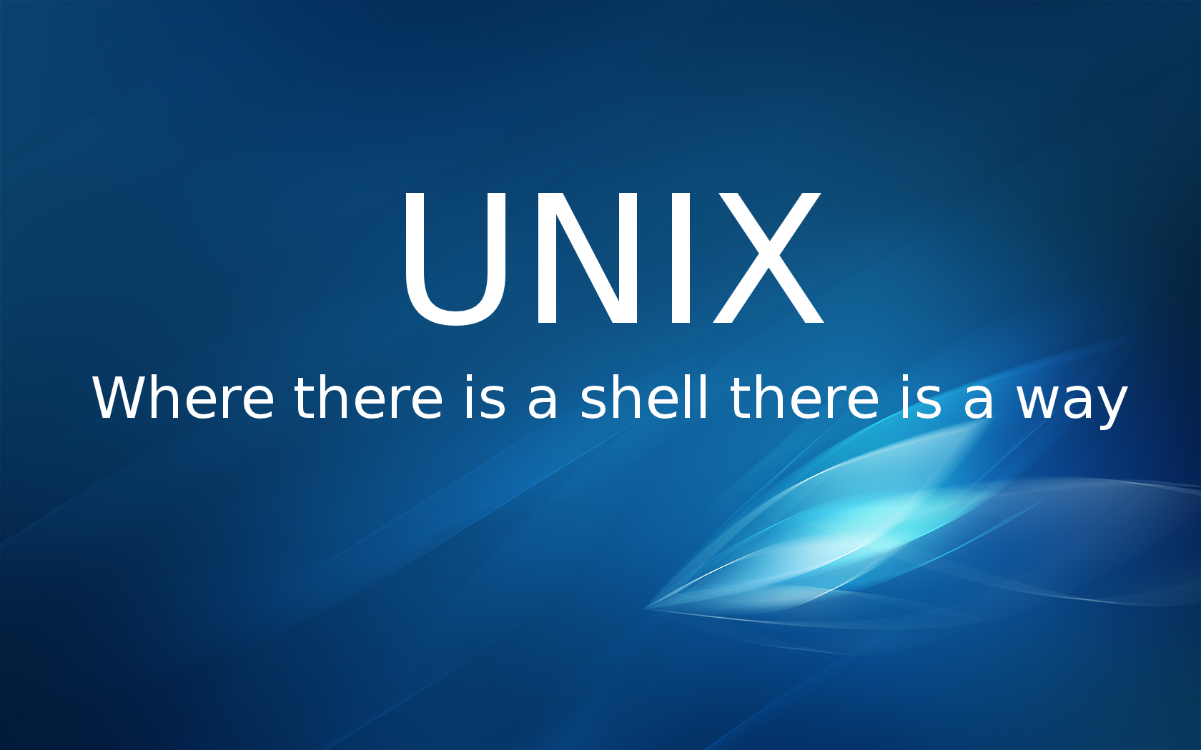 Unix Wallpaper